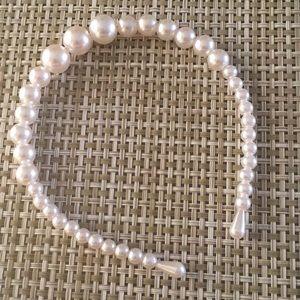 2 Pearl Headbands